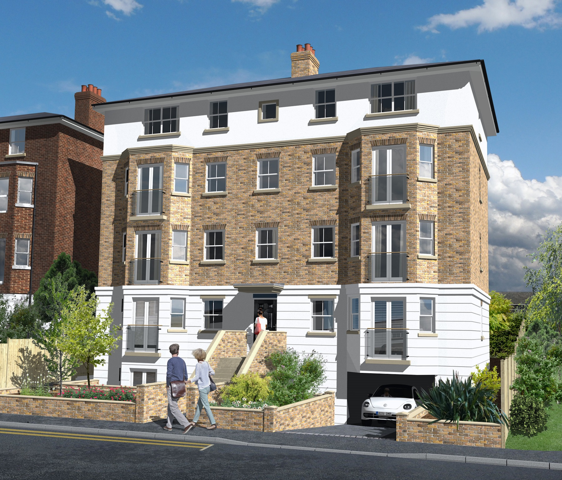 9 traditional 1/2 bedroom apartments,Swan Guest House, Leatherhead